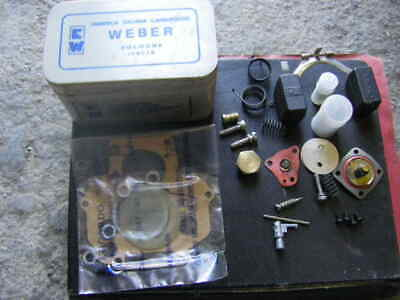 Kit réparation carburateur Lancia Beta B 1.3 Weber 34 DAT 32 DAT + flotteur