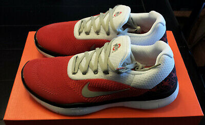 online retailer ec354 0aa85 NEW IN BOX Mens Ohio State Buckeyes NIKE FREE TRAINER V7 Training Shoes  Size 8 M