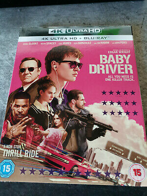 Baby Driver 4K UHD Blu-ray (Used - Very Good Condition)