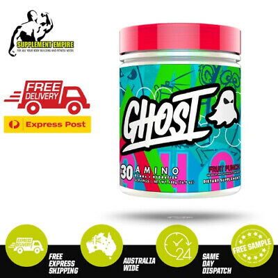 Ghost Amino BCAA & EAA Formula Recovery Performance Legend Energy 30 Serves