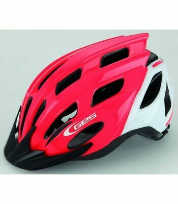 Casco Ges Kore Junior Mtb Road Rojo/Blanco (52-56)