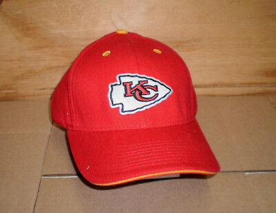 7acc8702ca1b6 Brand New Adult Nfl Kansas City Chiefs Embroidered Adjustable Cap Hat Osfa