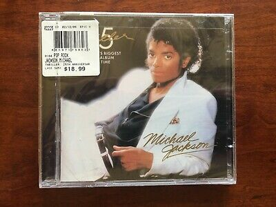 Michael Jackson - THRILLER 25th Anniversary [New CD]~ RARE SEALED 2009 RELEASE!!