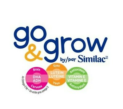 Go & Grow by Similac™ Step 3 Vanilla Flavour Toddler Drink, Powder