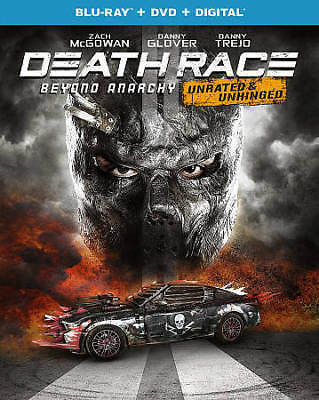 Death Race: Beyond Anarchy (Blu-ray/DVD, 2018, 2-Disc Set,Includes Digital Copy)