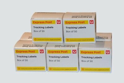 400 ( 8 Boxes ) AUSTRALIA EXPRESS POST TRACKING LABELS For Domestic Parcels