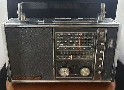Rare Vintage Sears Wayfarer Multiband Radio Working