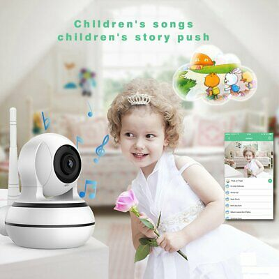 960P WiFi IP Network Security HD Camera Intelligent Home Alert Device Lot NMF#