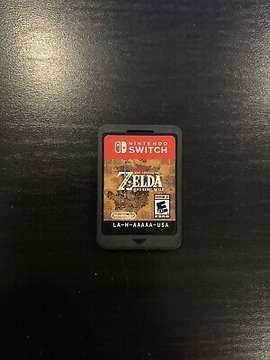 Legend of Zelda: Breath of the Wild Nintendo Switch, 2017 Tested! Cartridge Only