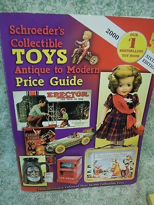 "rm-409  Collectibles book:""Schroeder's Collectible TOYS"" price guide, 2000"