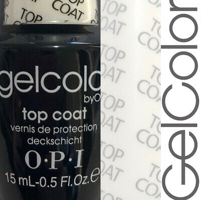 OPI GelColor Soak Off Gel Polish TOP COAT GC 030 15ml - Free Shipping