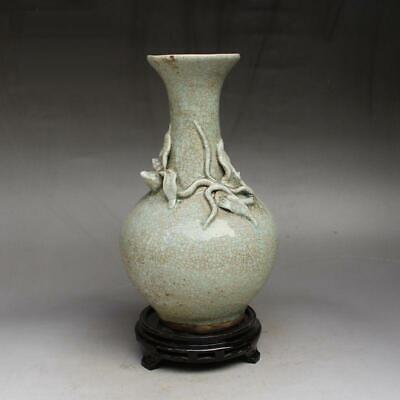 old Chinese Celadon Porcelain crackled vase