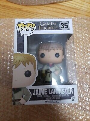 Funko Pop TV HBO Game Of Thrones Golden Hand Jaime Lannister VAULTED, RETIRED!!