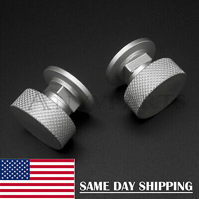 Welding Hood Fasteners Pipeliner Vertical Veins 2Pcs Aluminum--Anodized Surface