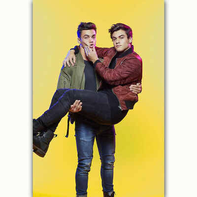 H-1248 Dolan Twins Custom Music Group Singer Wall Silk Poster