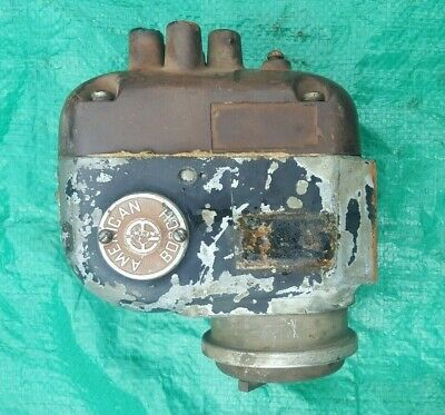 ANTIQUE AMERICAN BOSCH Magneto Corp Radio Model 28 For Parts Or