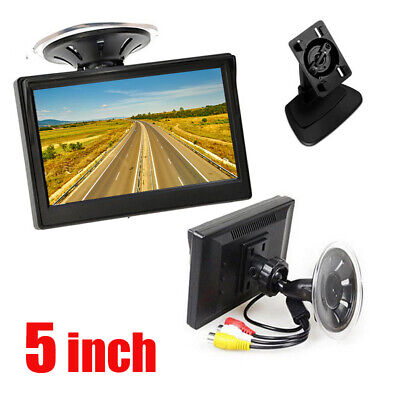 5 inch 800*480 TFT LCD HD Screen Monitor For Car Rear View Reverse Backup Camera