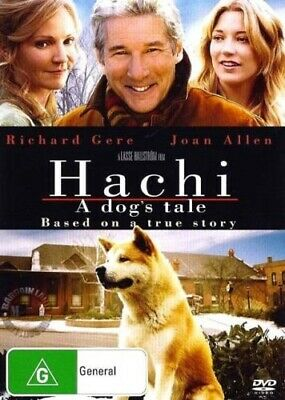 Hachi A Dog's Tale DVD 2010 Brand New & Sealed