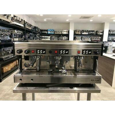 Cheap 3 Group Pre-Owned Wega High Cup Commercial Coffee Machine