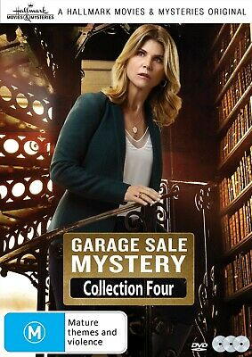 GARAGE SALE MYSTERIES 3 Film Collection Four (Region 1) DVD Hallmark Mystery 4