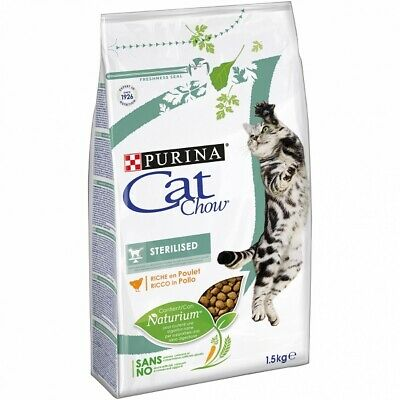 Pienso para Gatos Esterilizados PURINA CAT CHOW STERILIZED