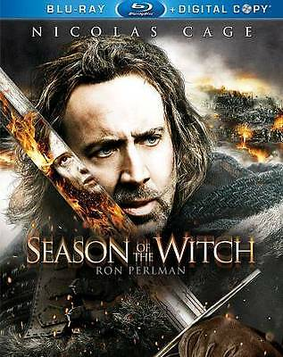Season of the Witch (Blu-ray Disc, 2011, 2-Disc Set, Includes Digital Copy) New