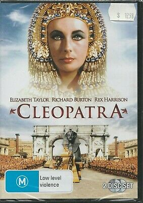 Brand New Sealed in Plastic Cleopatra (DVD 2006 2-Disc Set) Rated M Region 4 PAL