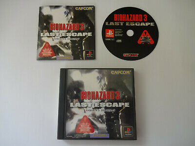 """SONY PlayStation 1 Game Soft """"Resident Evil 3 Last Escape (BIOHAZARD)"""" PS1 Japan"""