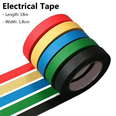 Electrical PVC Insulation Tape 18mm x 18m Flame Retardant Insulating Waterproof