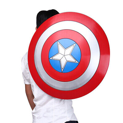 1:1 Captain America Shield ABS Shield 57cm Cosplay Halloween gift props