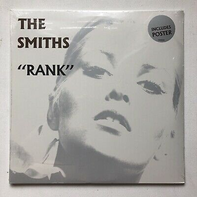 The Smiths- Rank Inc Poster Vinyl Record Sealed Morrissey