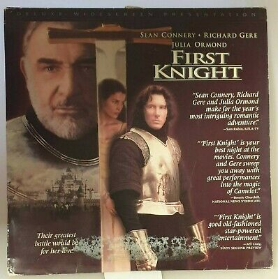 First Knight Laserdisc