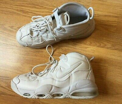 half off ee98b 313fb Nike Air Max Uptempo 95 UK Size 8 Mens Trainers Triple White