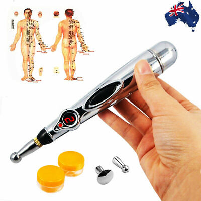 Electronic Pulse Analgesia Pen Body Pain Relief Acupuncture Point Massage Pen vw