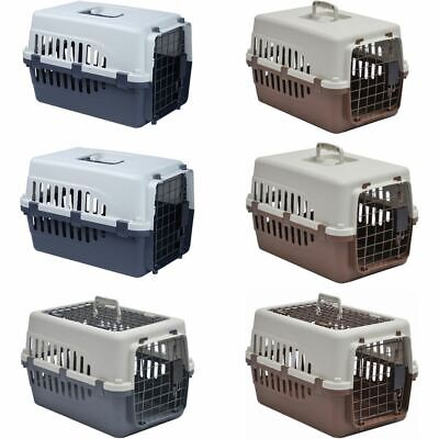 Pet Carrier Cage Crate Dog Cat Puppy Kitten Portable Travel Vet Transport Box