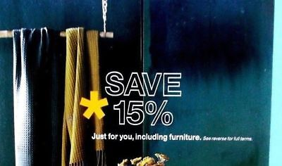 One coupon for Crate and Barrel 15% off entire purchase - sent fast - exp. 06-30