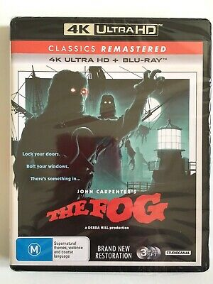 NEW The Fog 1980 Bluray 4K UHD HDR Horror Carpenter Barbeau Jamie Lee Curtis