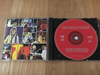 Rare Ted Mulry Gang Tmg Oz Cd Titled Reunion - Red Albert Productions 4771052