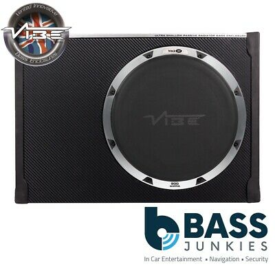 "Vibe BLACKAIRT12S-V6 12"" 30cm 900 Watts Compact Passive Car Subwoofer Enclosure"