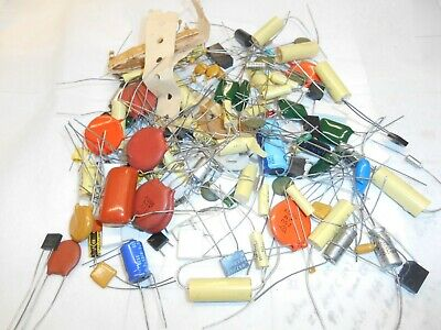 Capacitors ,Mixed Lot All Sizes ,Styles