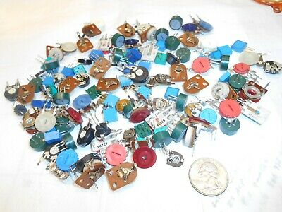 Trimmer resistors ,Potentiometers ,Mixed Lot All Sizes ,Styles