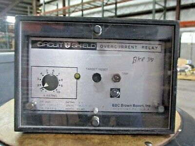 Bbc Brown Boveri 268T0775 Overcurrent Relay, #418822J Used
