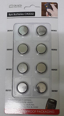 8 Pack 3V Button Cell Lithium Batteries 8 x CR2032 (Off Cent. Brand)