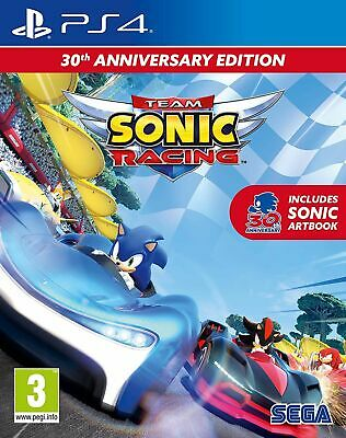 Sonic Team Racing (PS4) Brand New & Sealed UK PAL Free UK Postage