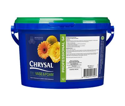Chrysal Professional 3 Flower food For Cut Flowers - Powder (2kg) High Quality