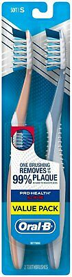 Oral-B Pro-Health All-in-One Manual Toothbrush, Soft, 2 ct., Value Pack