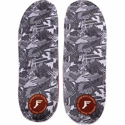 Footprint - Orthotic Shoe Insoles - Gamechanger Lite - White Camo