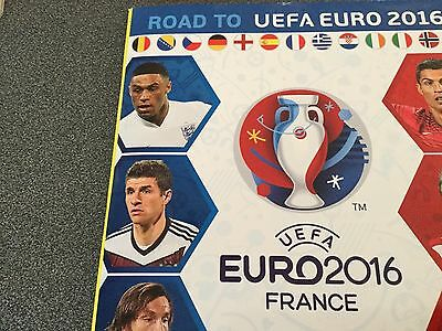 Lot de vignettes panini Road to uefa EURO 2016 FRANCE