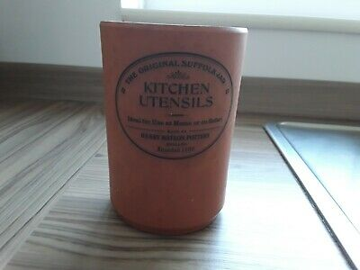 Bread Bins Vintage Country Farmhouse Terracotta Henry Watson Utensils