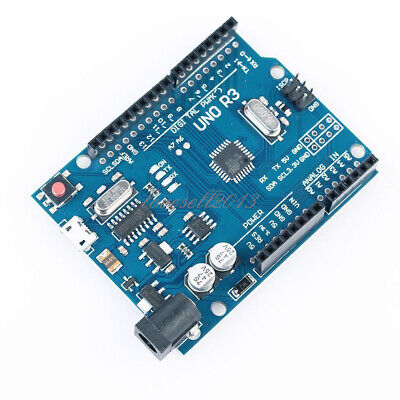 Latest Version Arduino UNO R3 ATMEGA328P-16AU CH340G Micro USB Board
